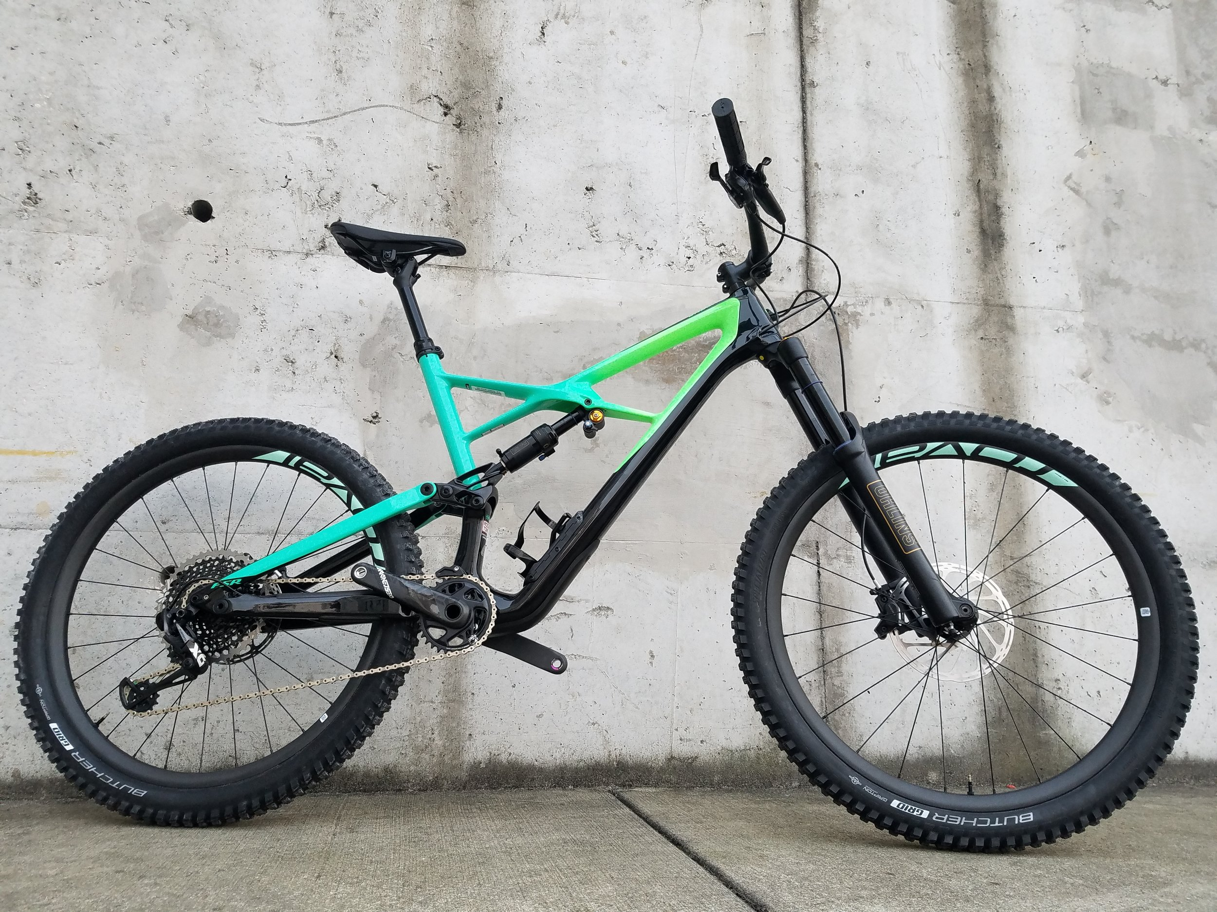 This bike will eat the trails!
