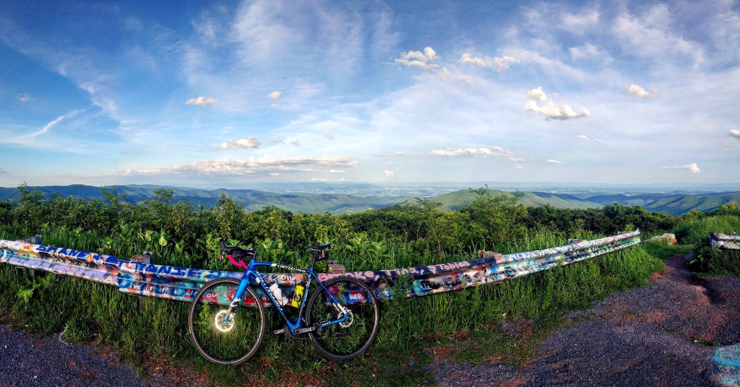 360 degree view of the Shenandoah Valley & West Virginia from the top of Reddish Knob.