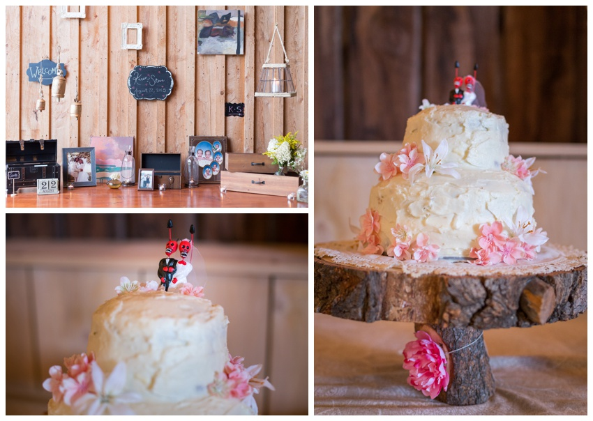 wedding cake stone tavern farm