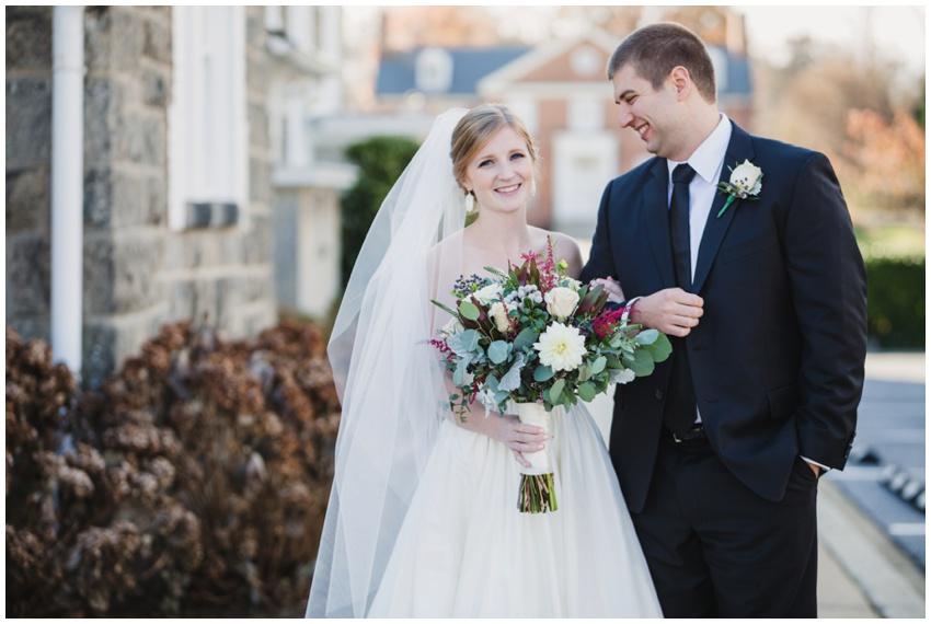 bride and groom portraits baltimore wedding photographer
