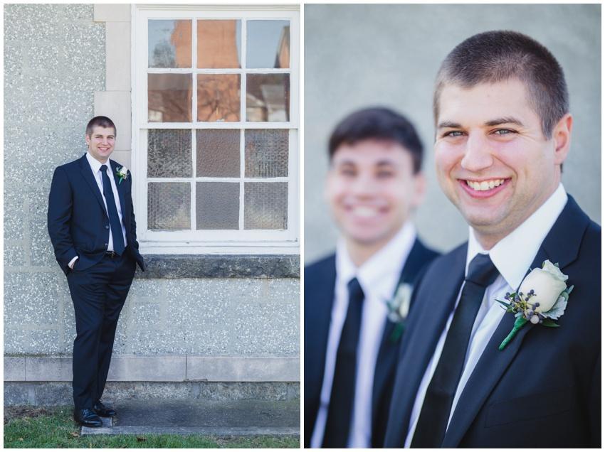 groom portrait baltimore wedding