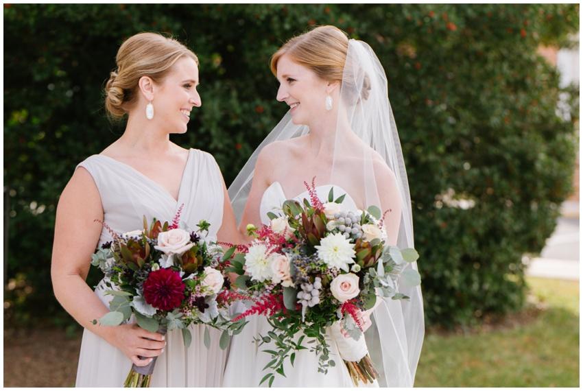 elegant fall wedding bouquet by radebaugh