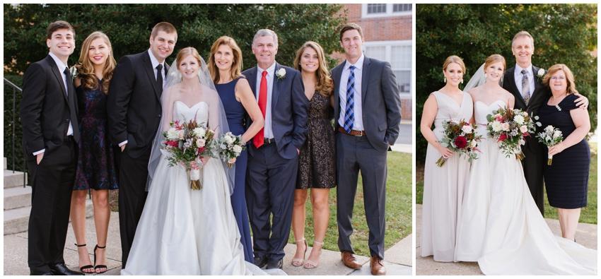 family group photos baltimore wedding