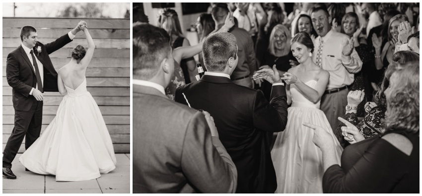 accelerator space wedding reception