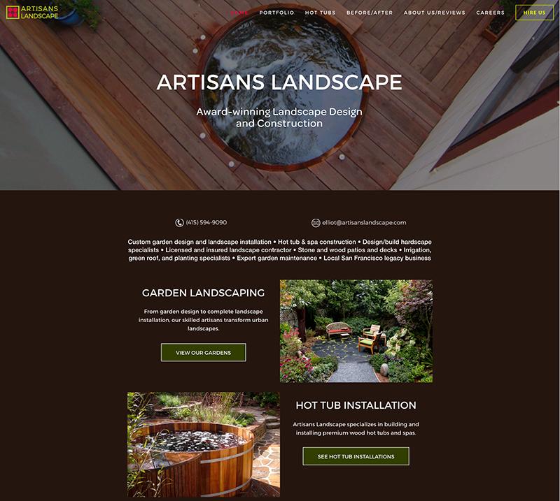 Click to see Artisans Landscape website.