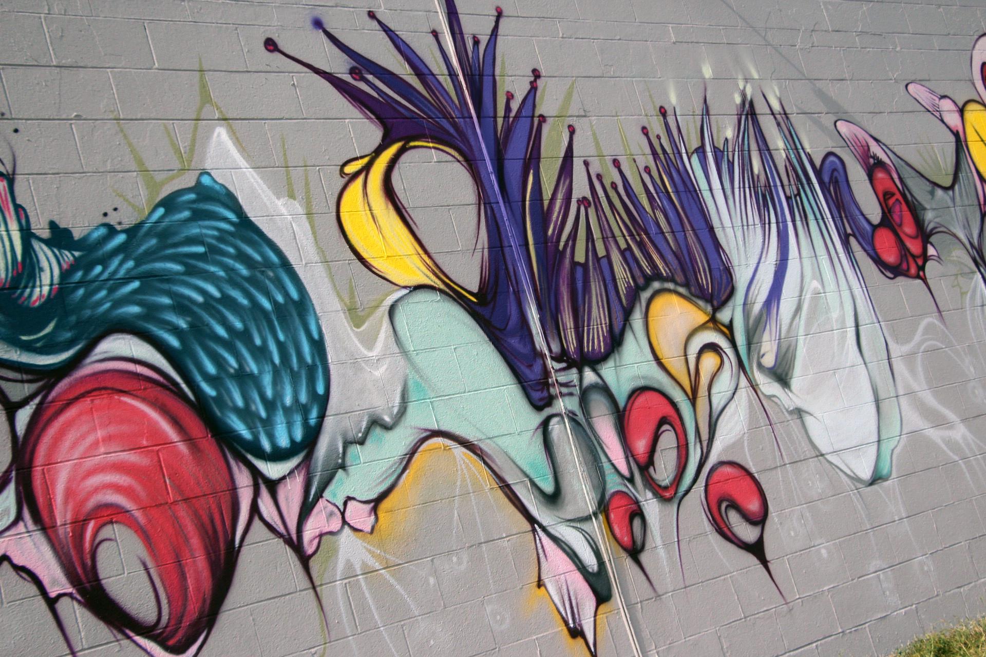 Hollis + Lana mural 2015
