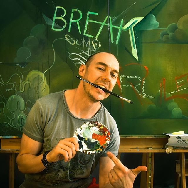 Break Some Rules // #workinprogress // #TomLohner #popsurrealism #artbasel #contemporaryart #newcontemporary #newcontemporaryart #contemporaryartist #acrylicpainting #contemporarypainting #contemporaryart #fineart #popculture #popstyle #urbanculture #urbanstyle #artoftheday #artoninstagram #igersaustria #art_spotlight #artlovers #austria #hifructose #juxtapoz  #lowbrowpopsurrealists #cloudart #beautifulbizarremagazine
