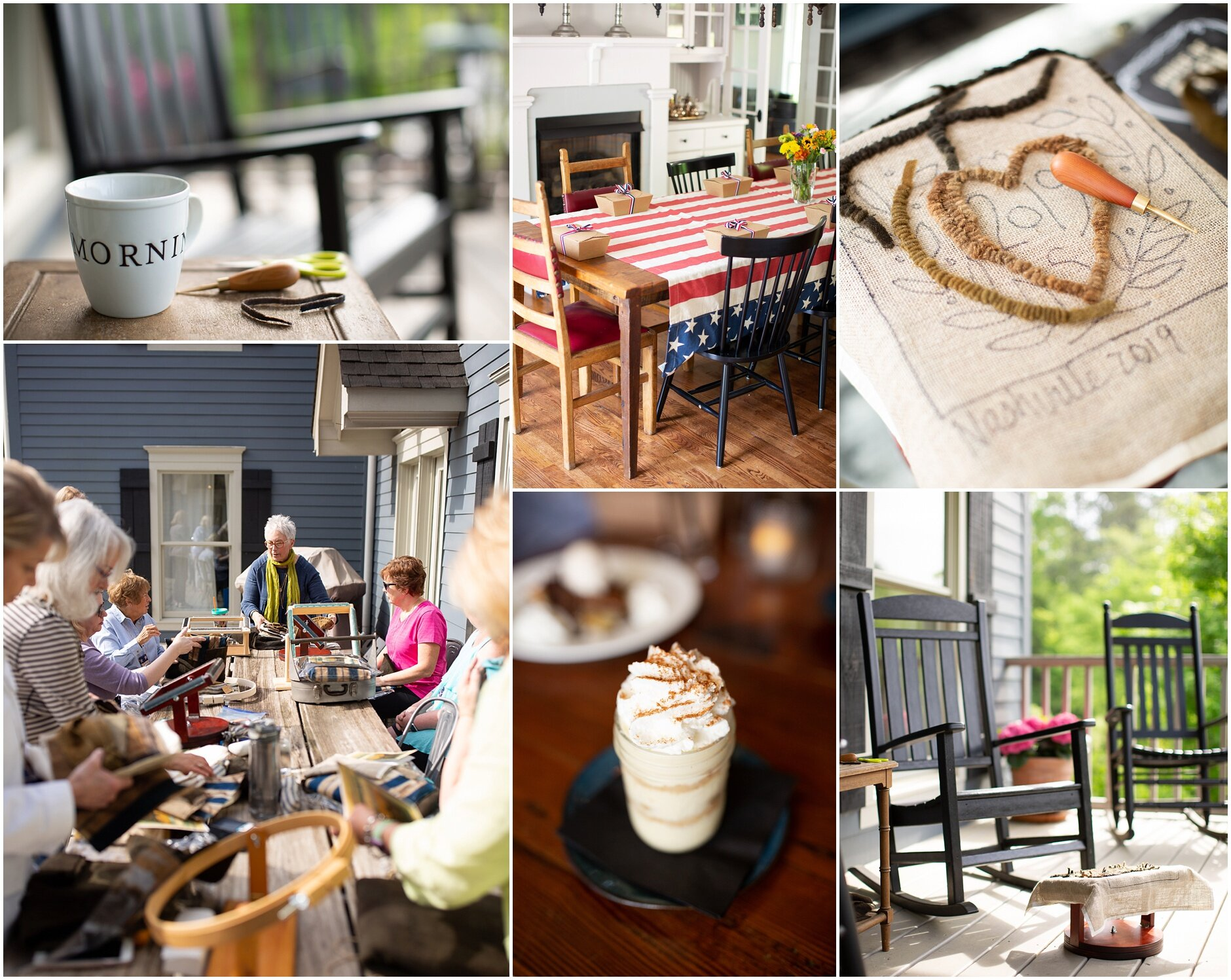 Just a few photos to share a few highlights from our retreat this past spring!