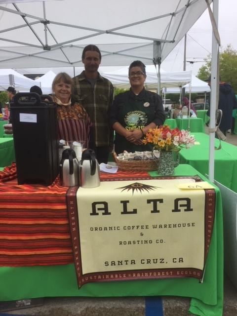Patti & Max Spooner alongside Staff of Life's employee Inda Hernandez