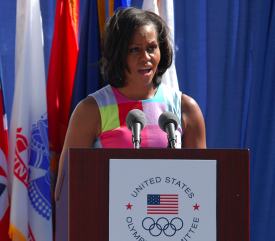Warrior Games Opening Ceremony 2012 with Michelle Obama
