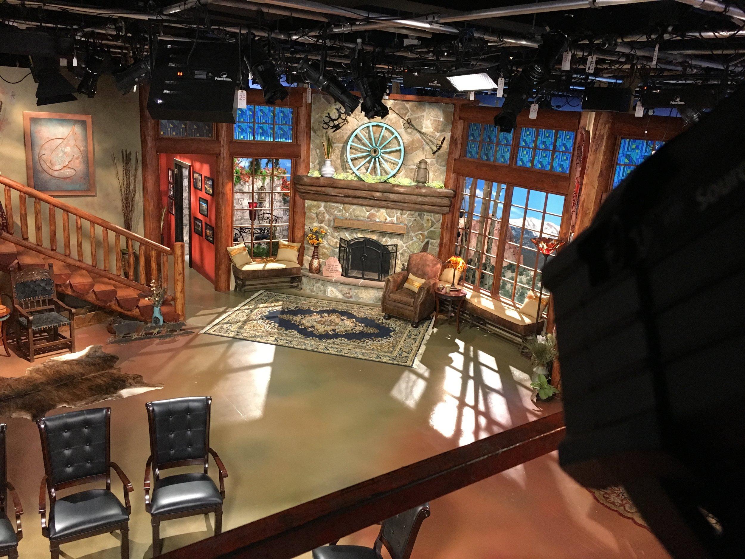 Andew Wolmack Live TV studio Re-light