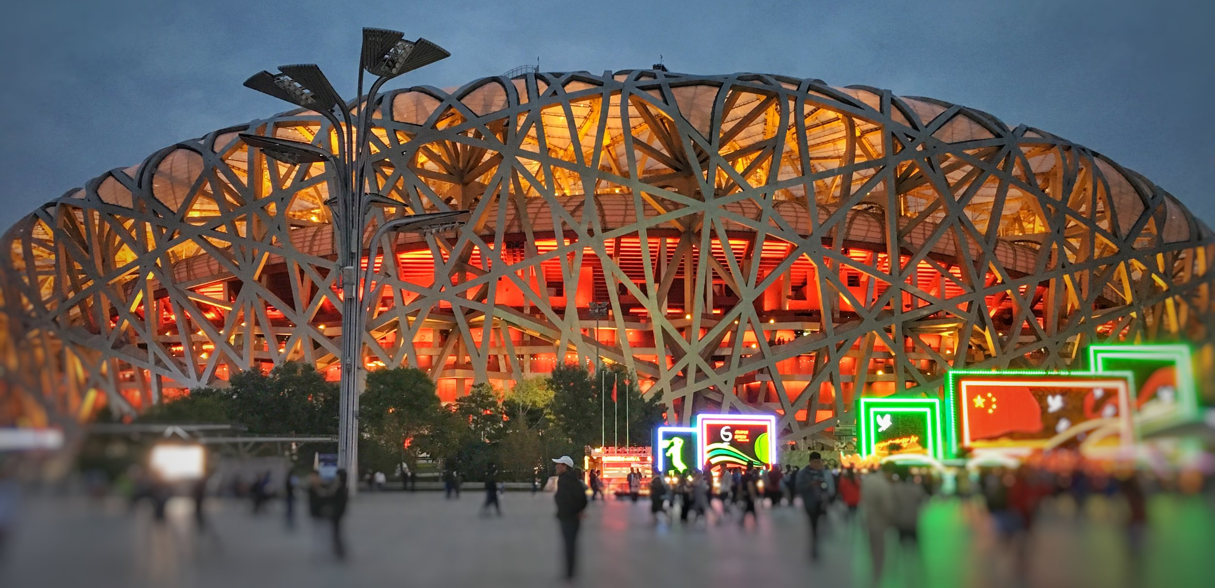Sing China  The Birds Nest