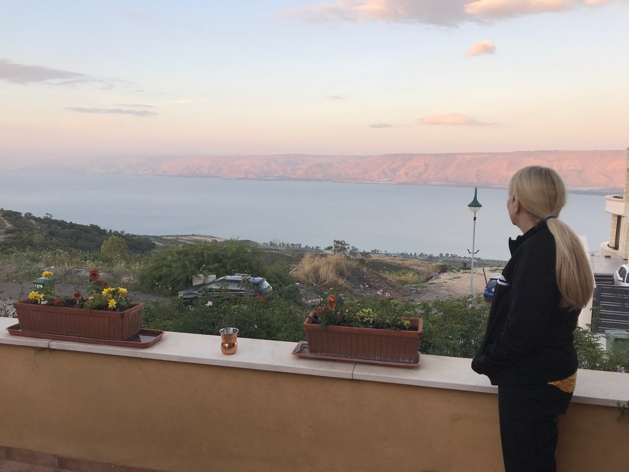Sea of Galilee - Cindy's Porch