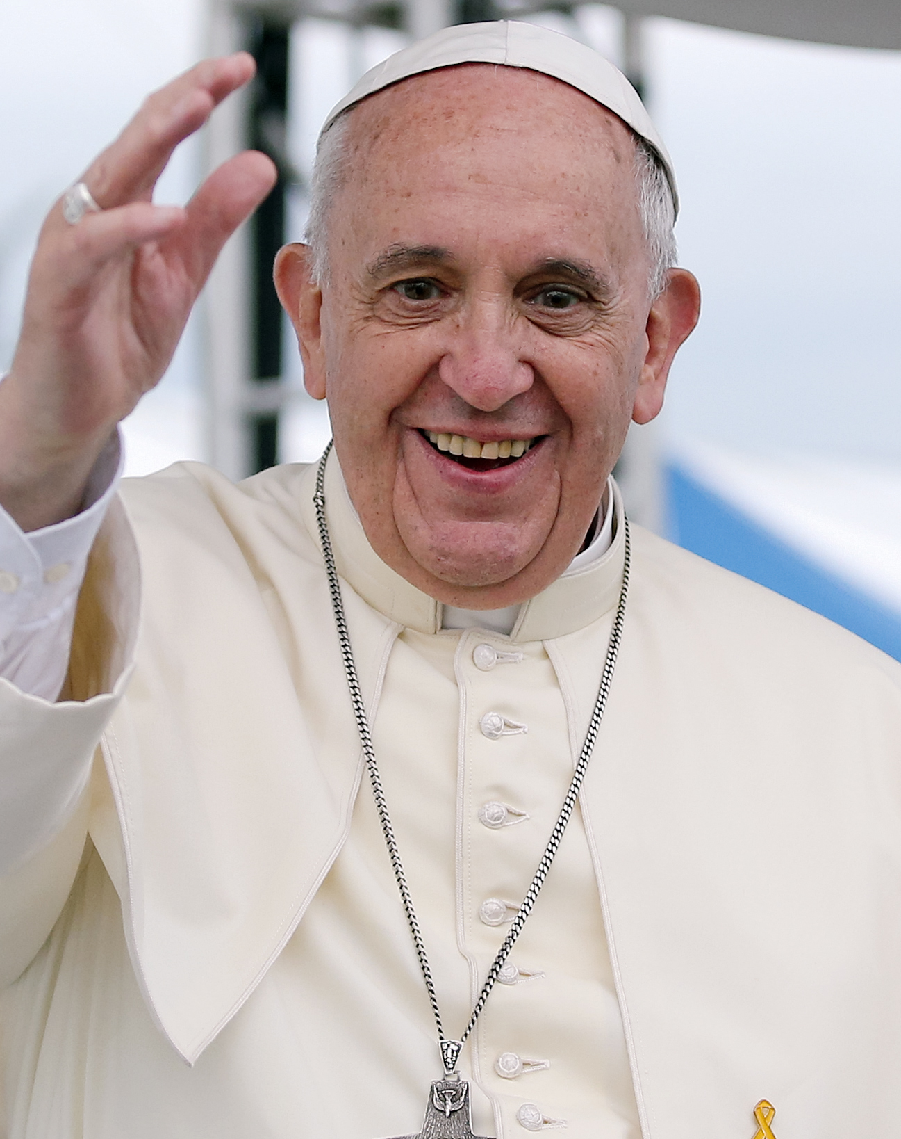 Pope Francis spreads the doctrine of love