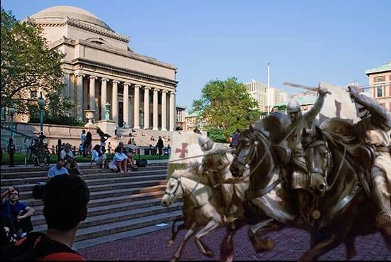 Conquistadors Recolonize Columbia's Discourse