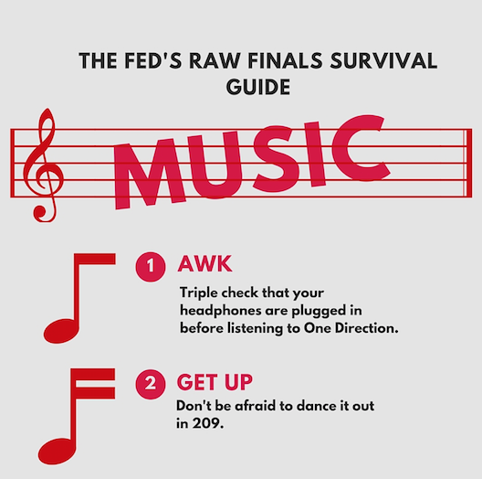 Raw Finals Survival Guide: Music