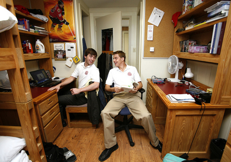 Roommates With Same Schedule Left With No Choice But To Jerk Each Other Off