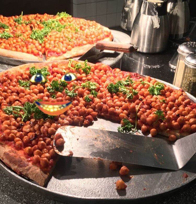 URGENT—Ferris Chickpea Pizza from March: Please Eat Me