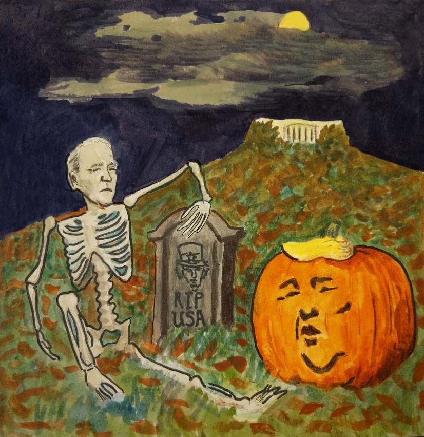 Spooky Election Issue, October/November 2020