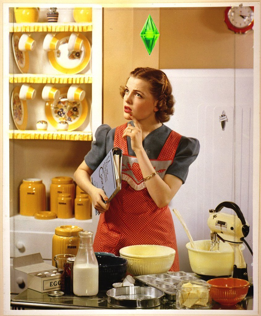 Feminist Confessional: I Make My Sim Cook a Three-Course Dinner for Her Husband Every Night Like it's the Goddamn 1950s