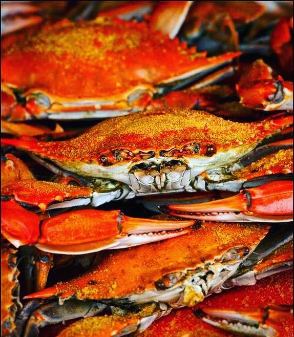 Back in season #marylandbluecrabs #fishnyc 🦀