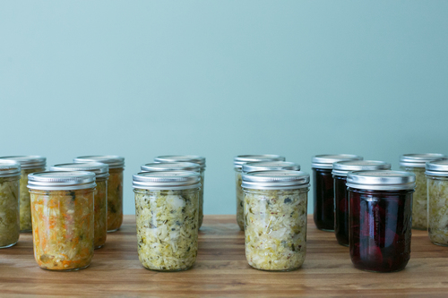 Full share quarts:120 ~Half share pints:66 - [*Return empty & clean kraut jars for a $1 refund!]