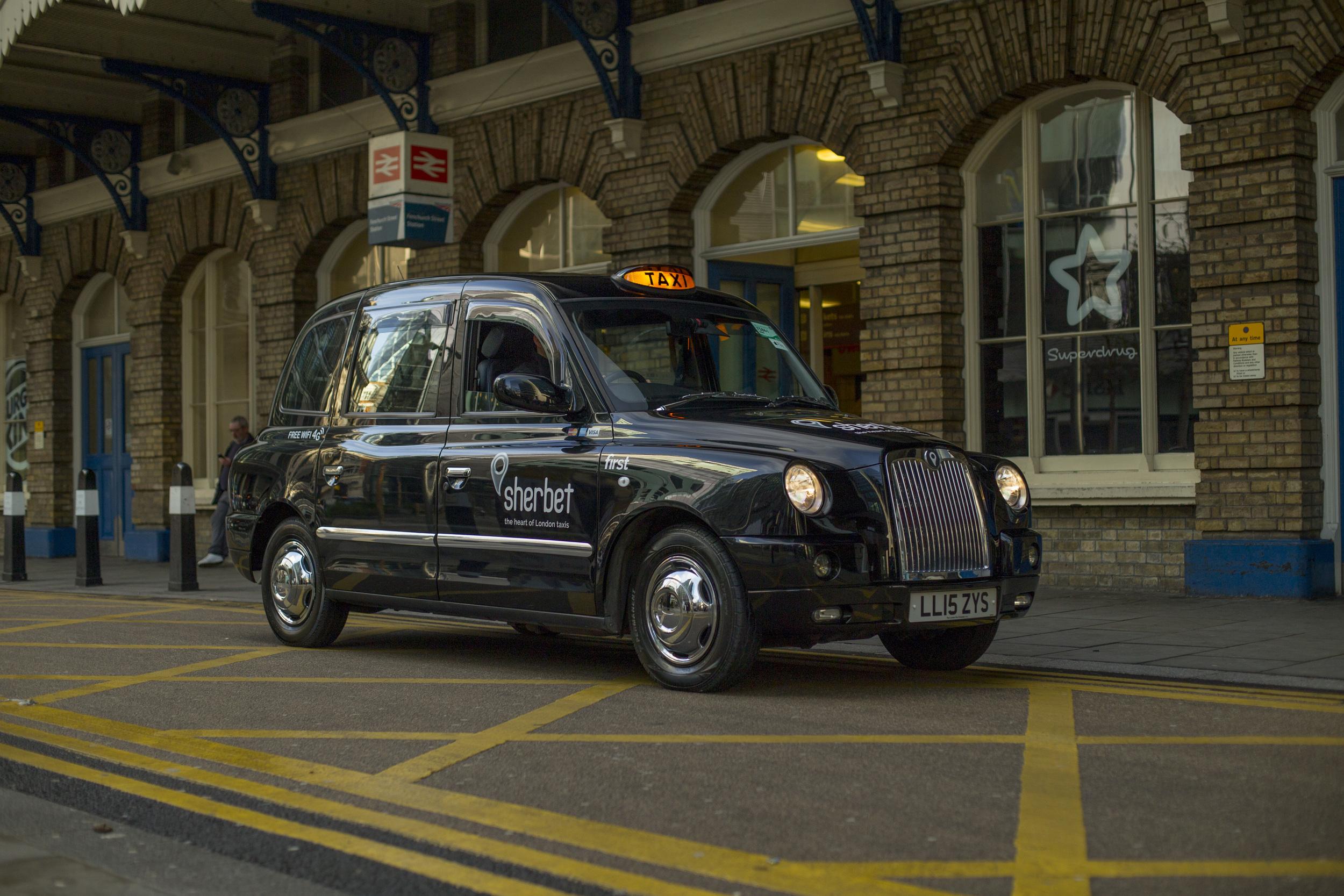 Sherbet London Taxis
