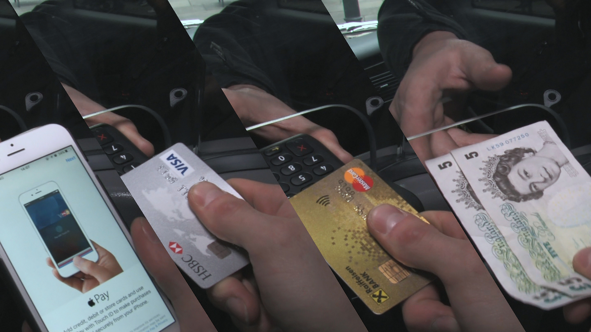 Apple Pay and Contactless payments Sherbet London Taxis