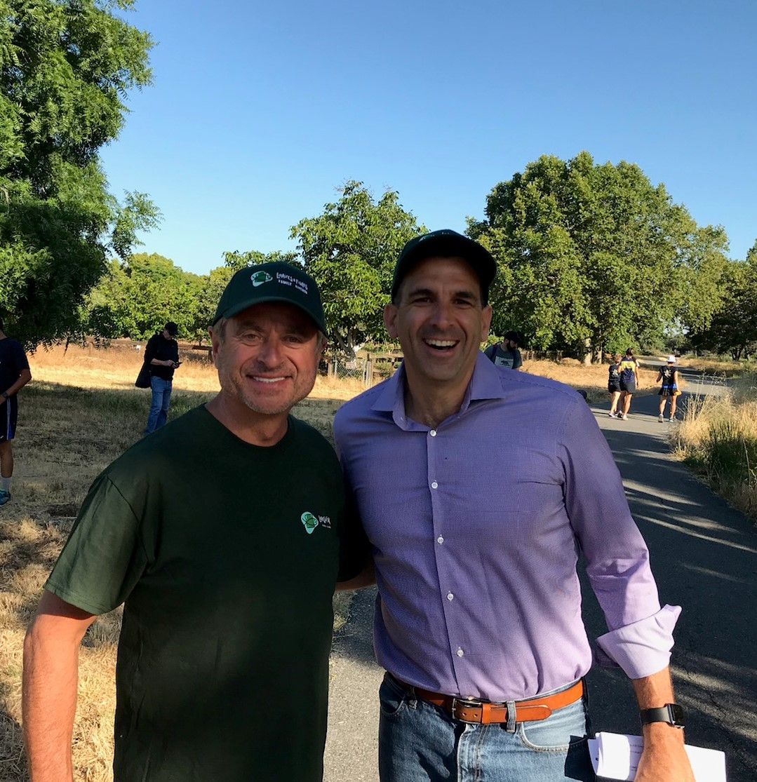 Thank you - Sam Liccardo and Randy Hahn for being our Master of Ceremonies and Race Starter.We truly appreciate your support!