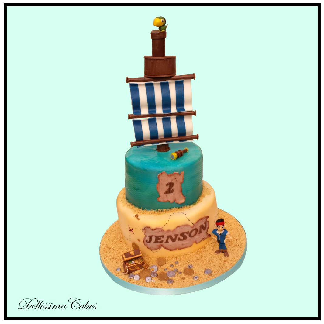 Captain Jake Birthday Cake