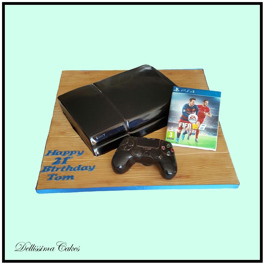 Sony PS4 Cake