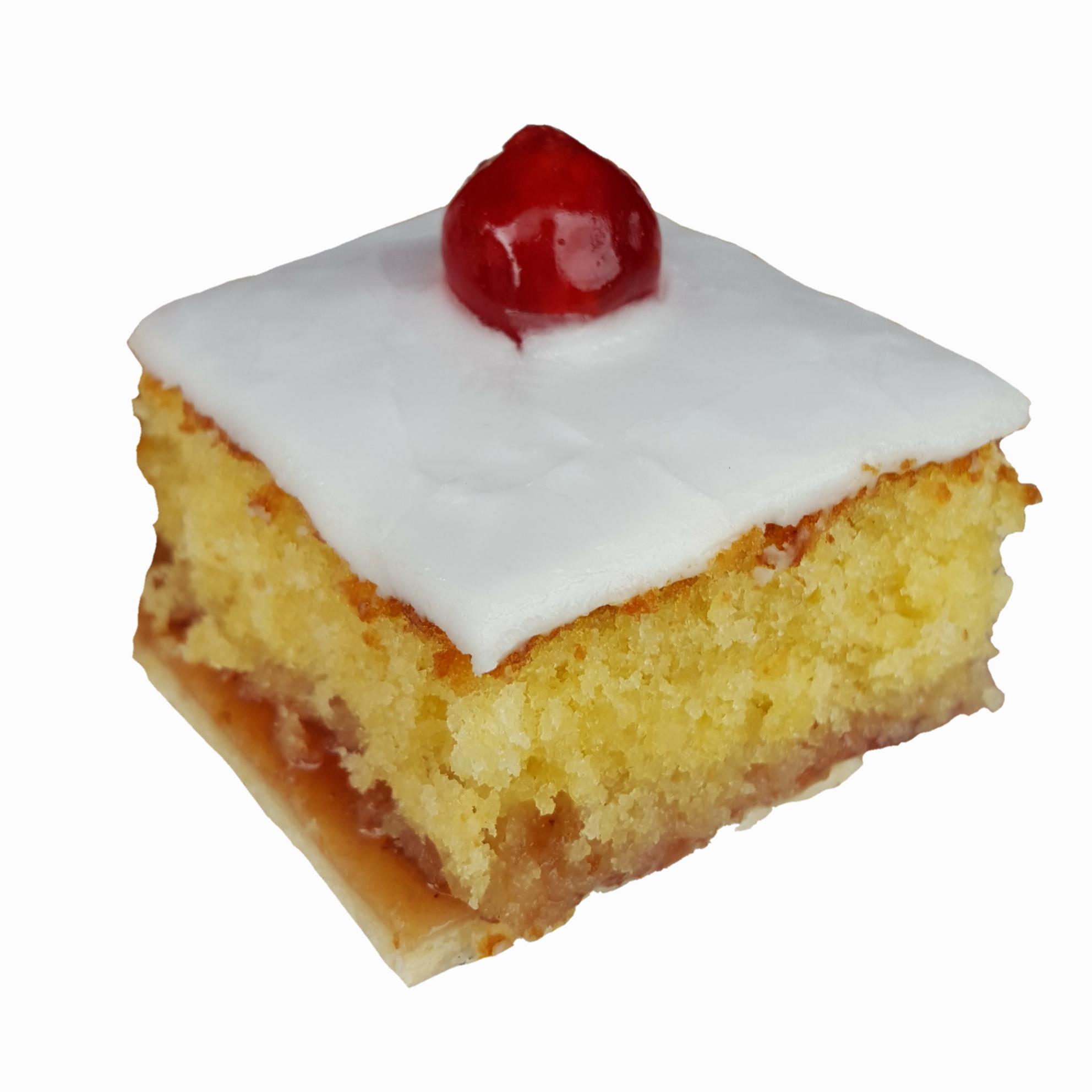 Cherry Bakewell Slices