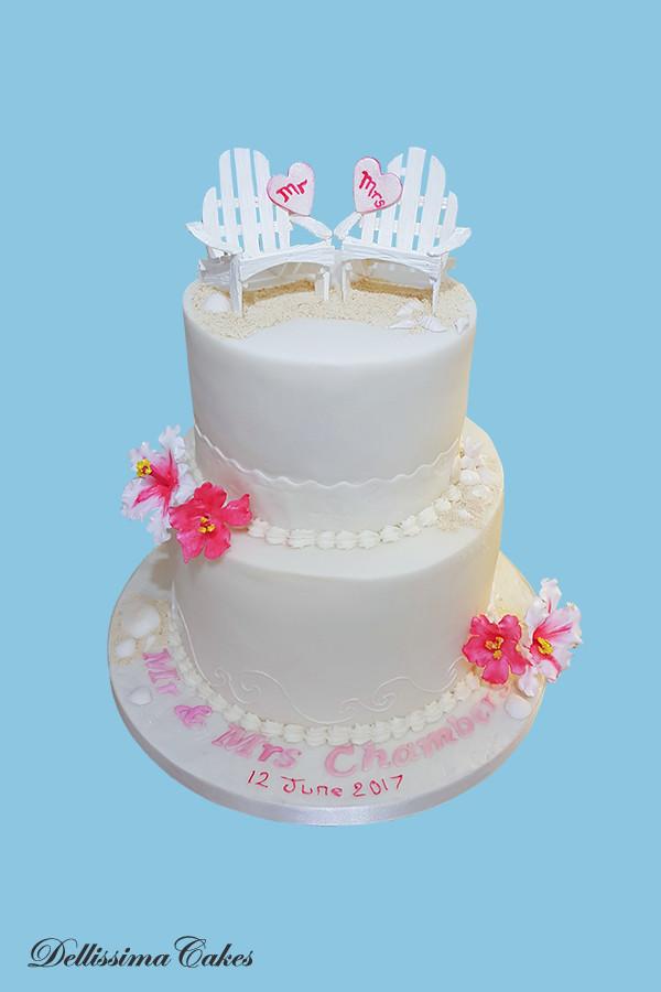 Honeymoon Wedding Cake