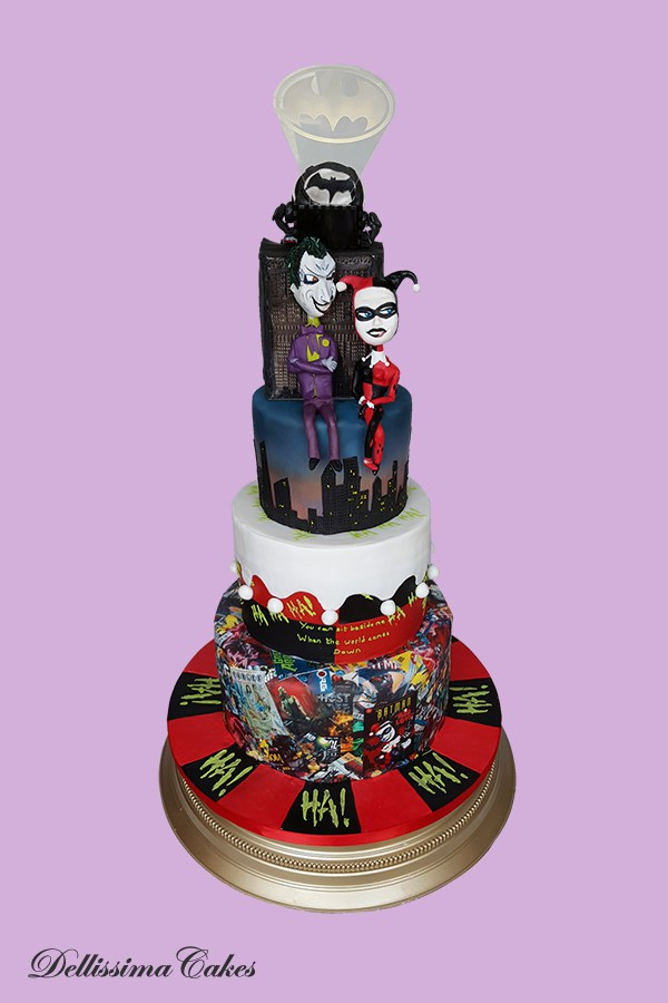 Mad Love Wedding Cake