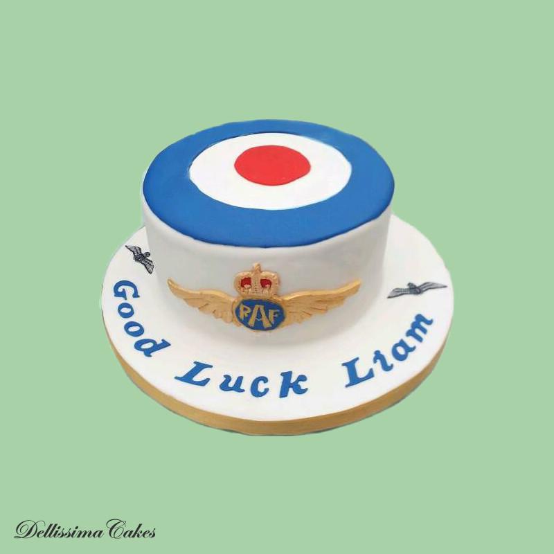 Good Luck RAF Cake