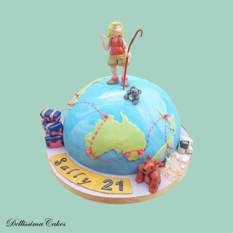 Travelling Celebration Cake