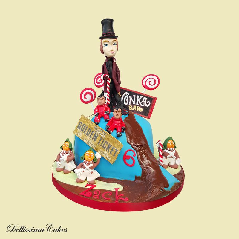 Willy Wonka Cake