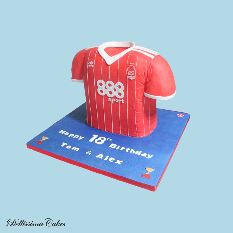 Nottingham Forest Birthday Cake