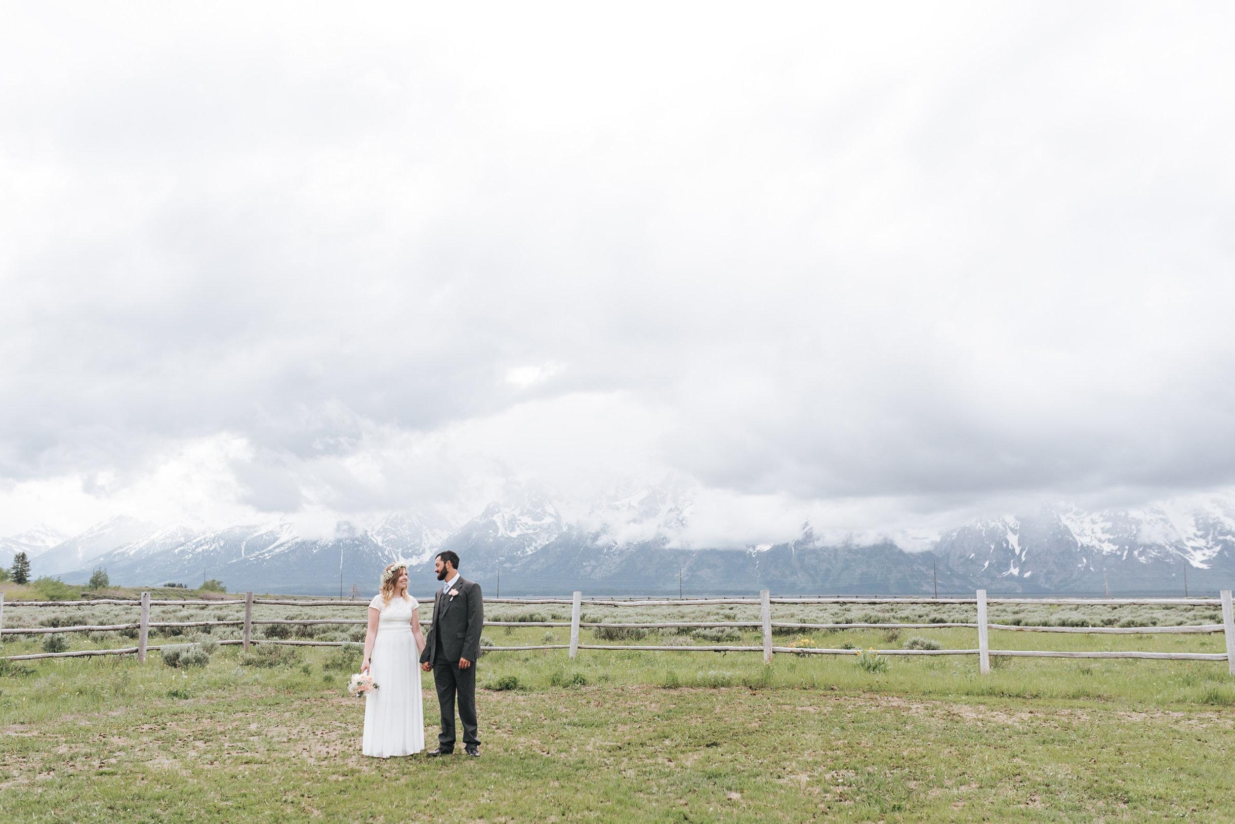 Grand Teton National Park Intimate Wedding Photographer
