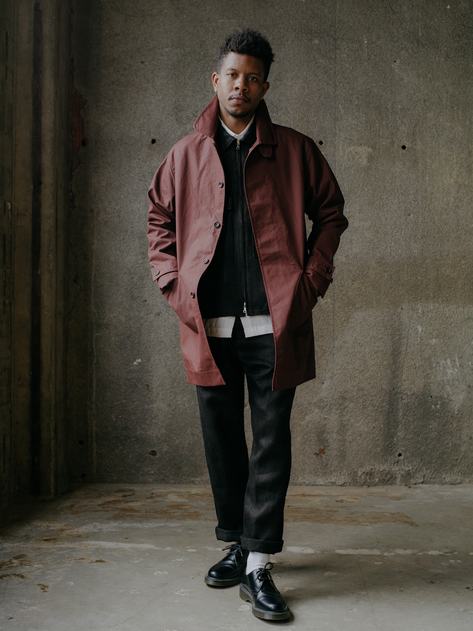 evan-kinori-covered-placket-coat-waxed-cotton-1