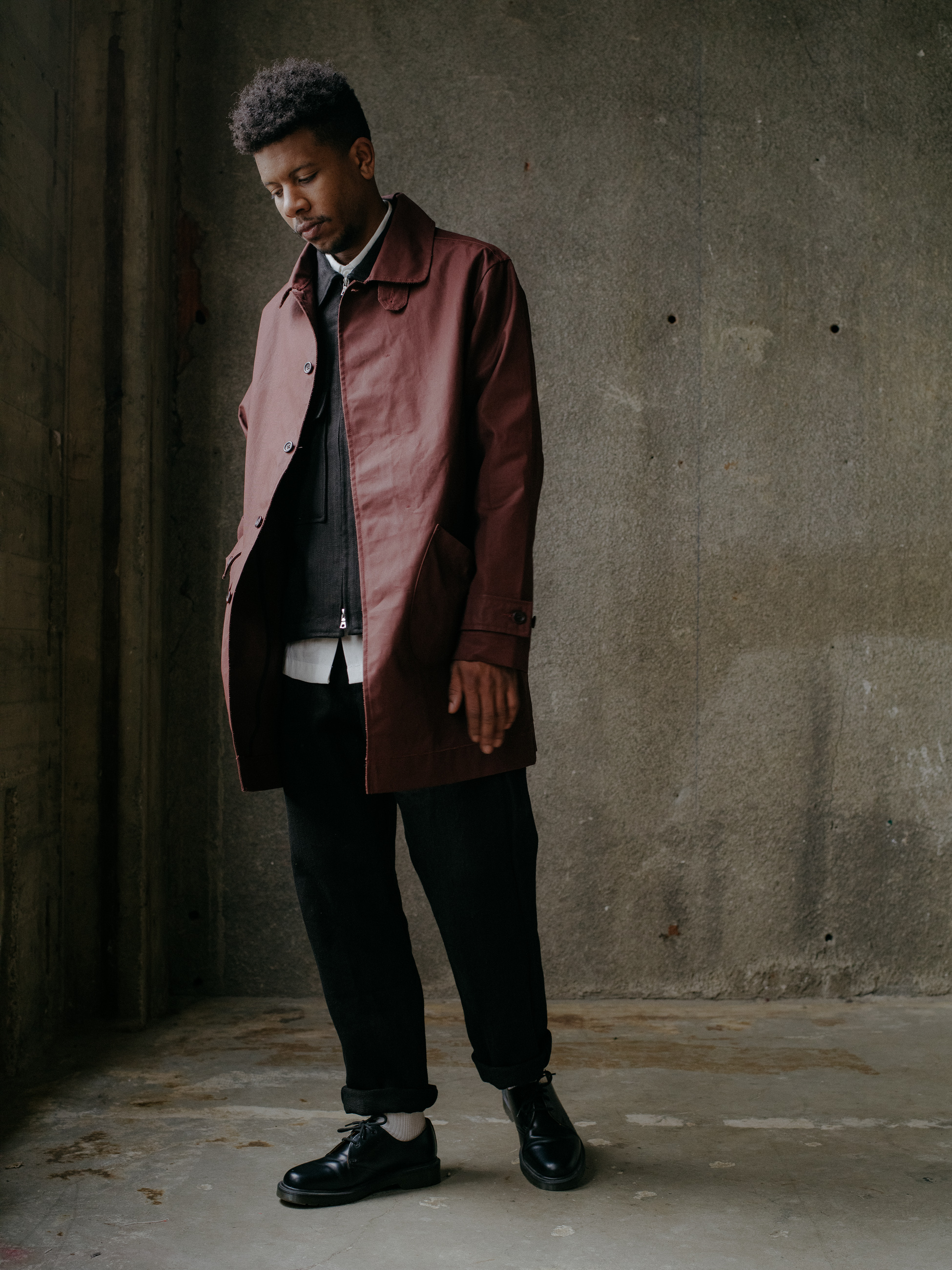 evan-kinori-covered-placket-coat-waxed-cotton-2