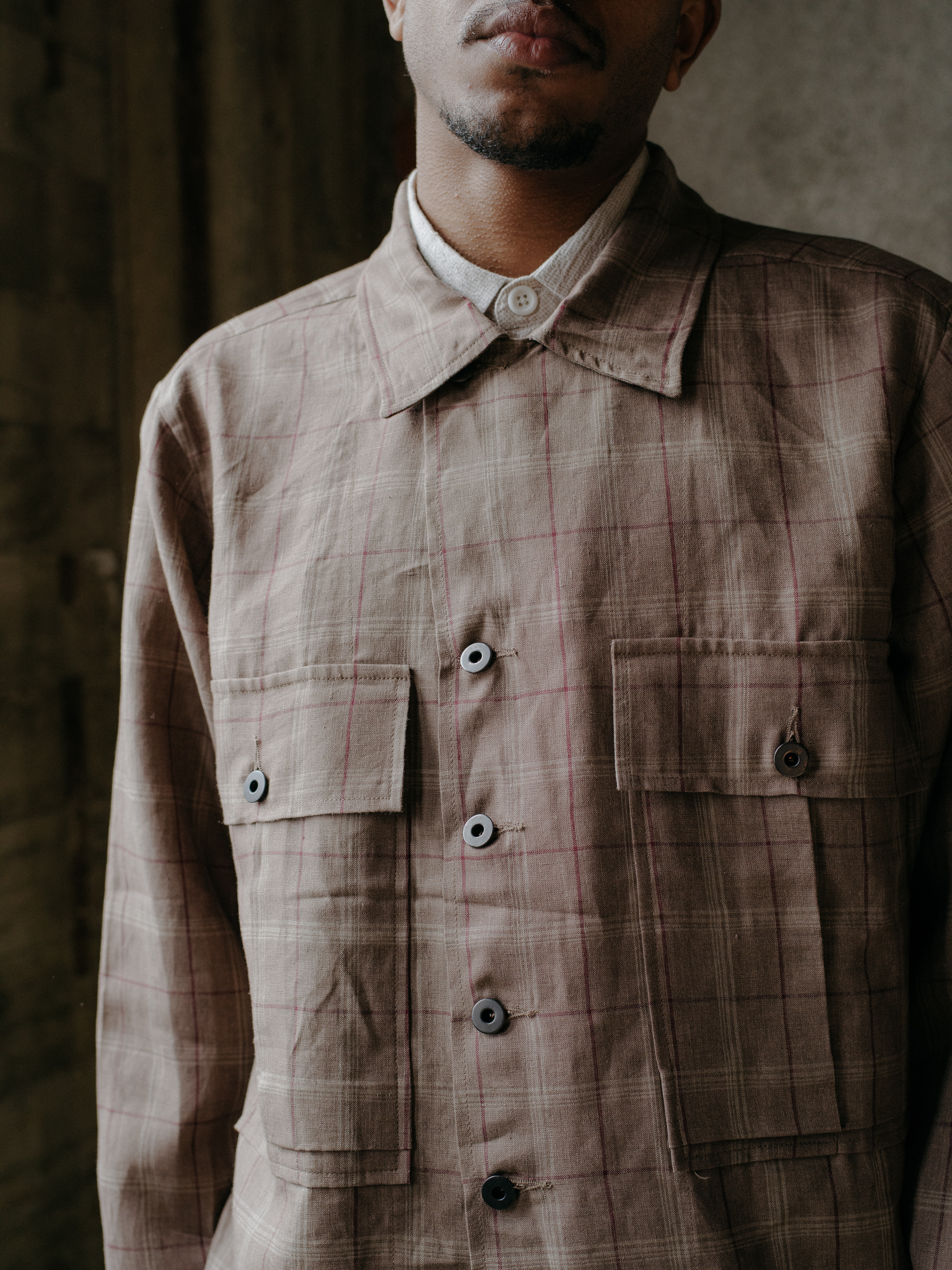 evan-kinori-bellow-pocket-jacket-clay-linen-check-4