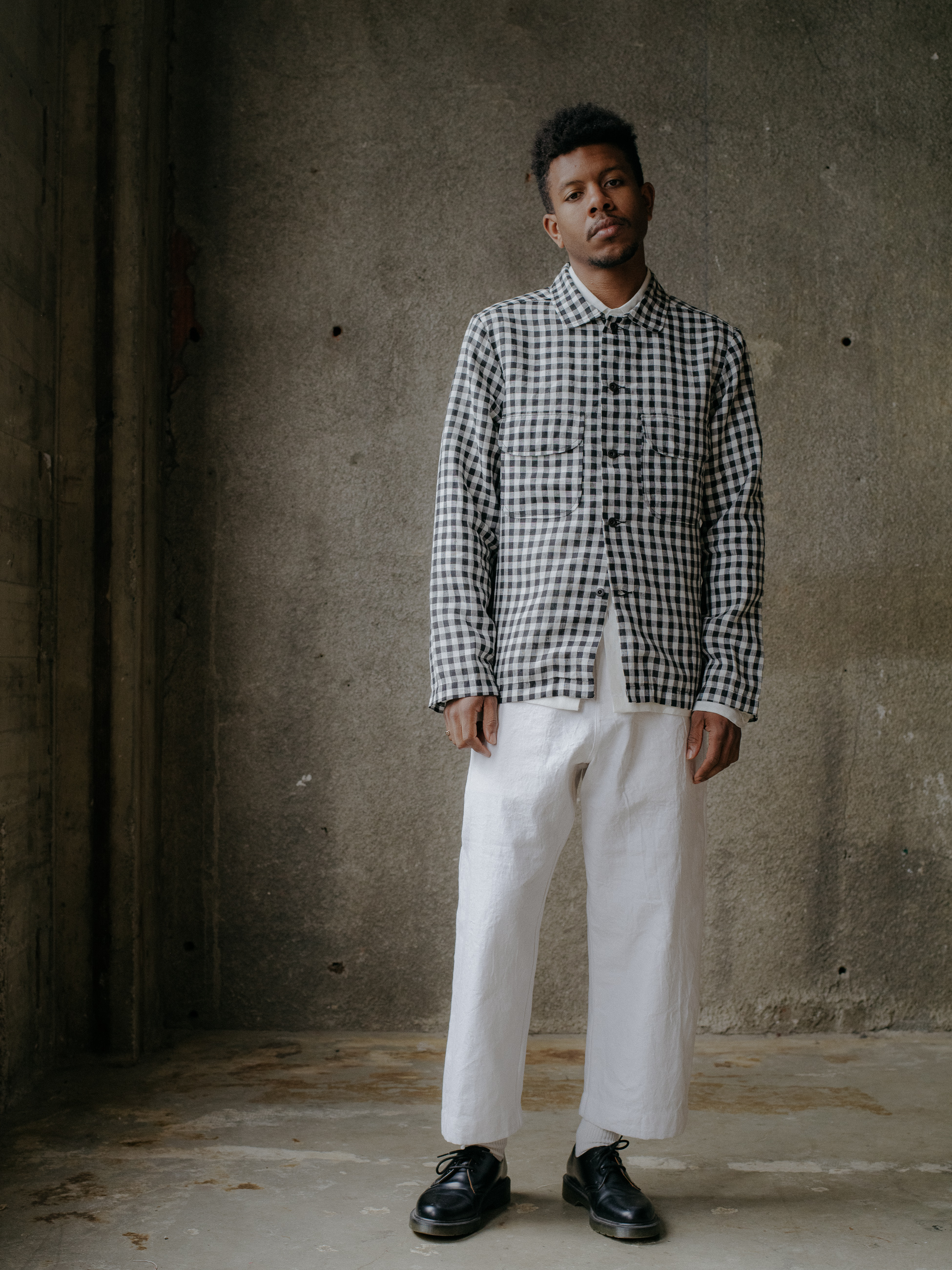 evan-kinori-field-shirt-gingham-linen-japan-1