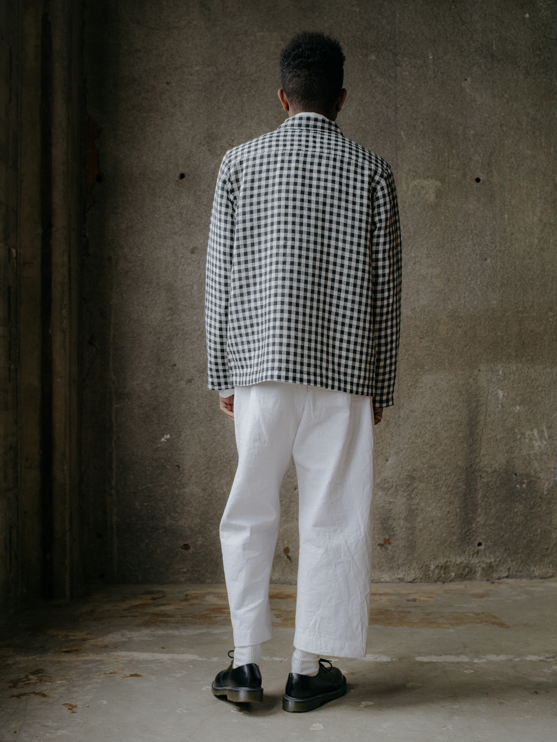 evan-kinori-field-shirt-gingham-linen-japan-3