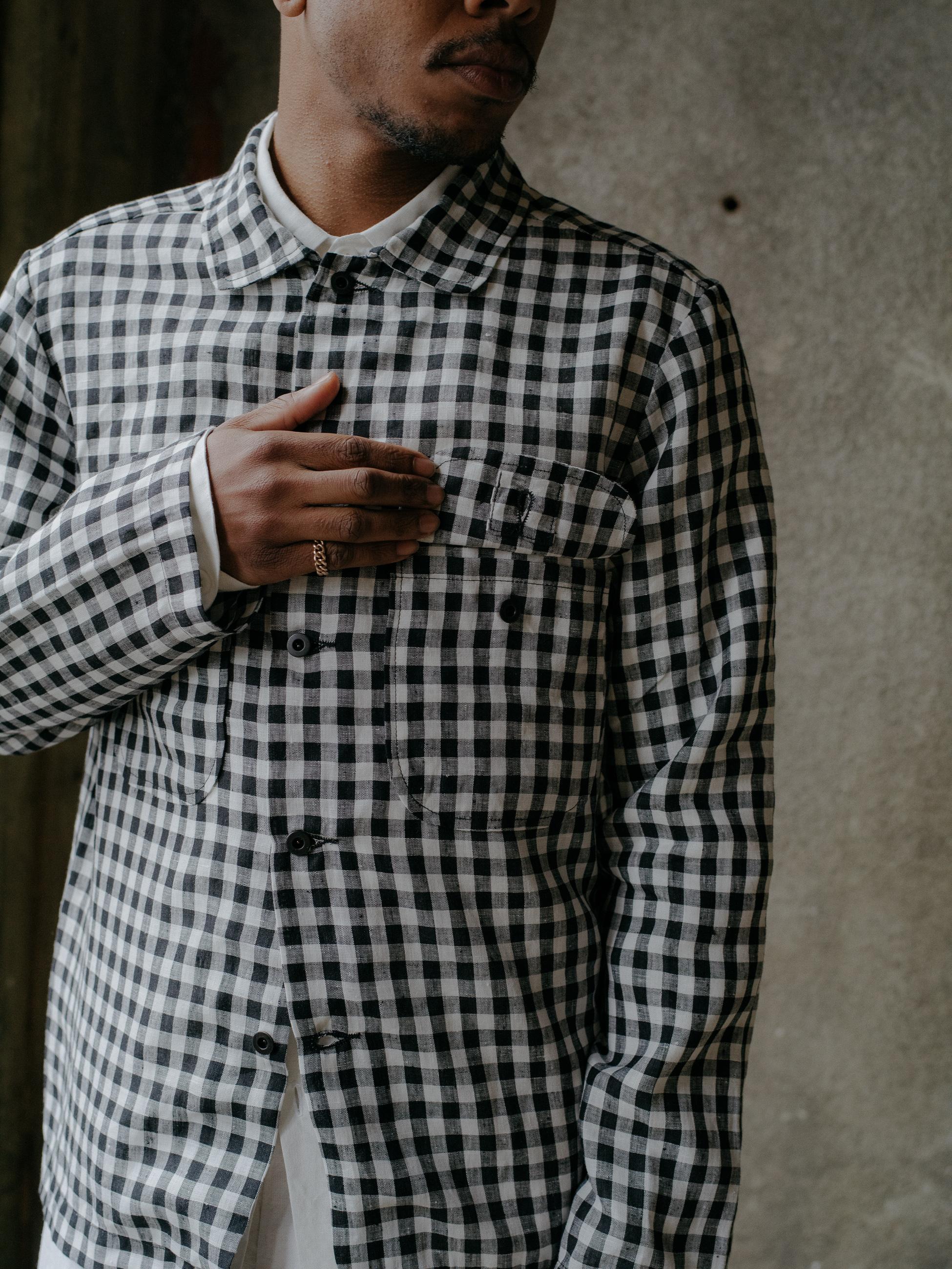 evan-kinori-field-shirt-gingham-linen-japan-4