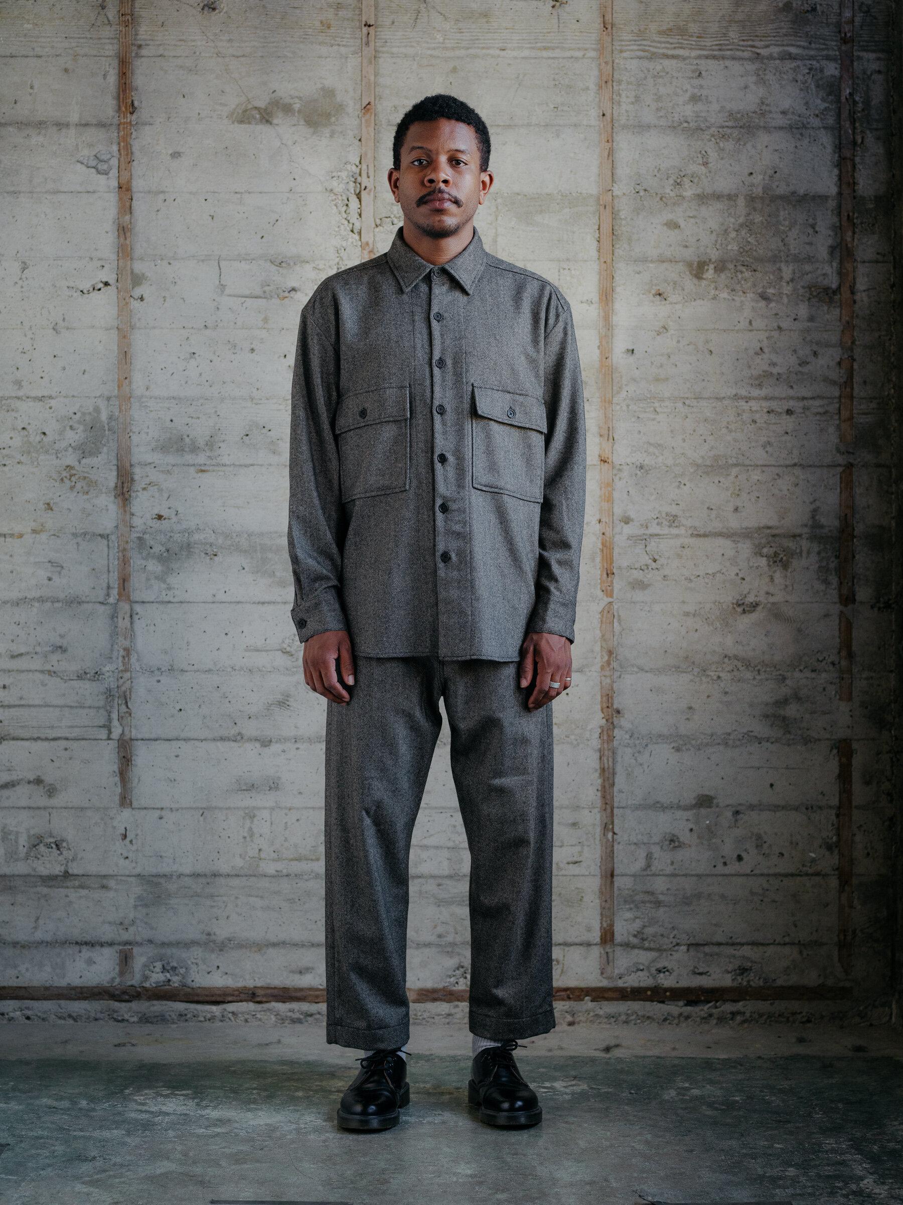 evan-kinori-big-shirt-cashmere-lambswool-herringbone-woven-england-1