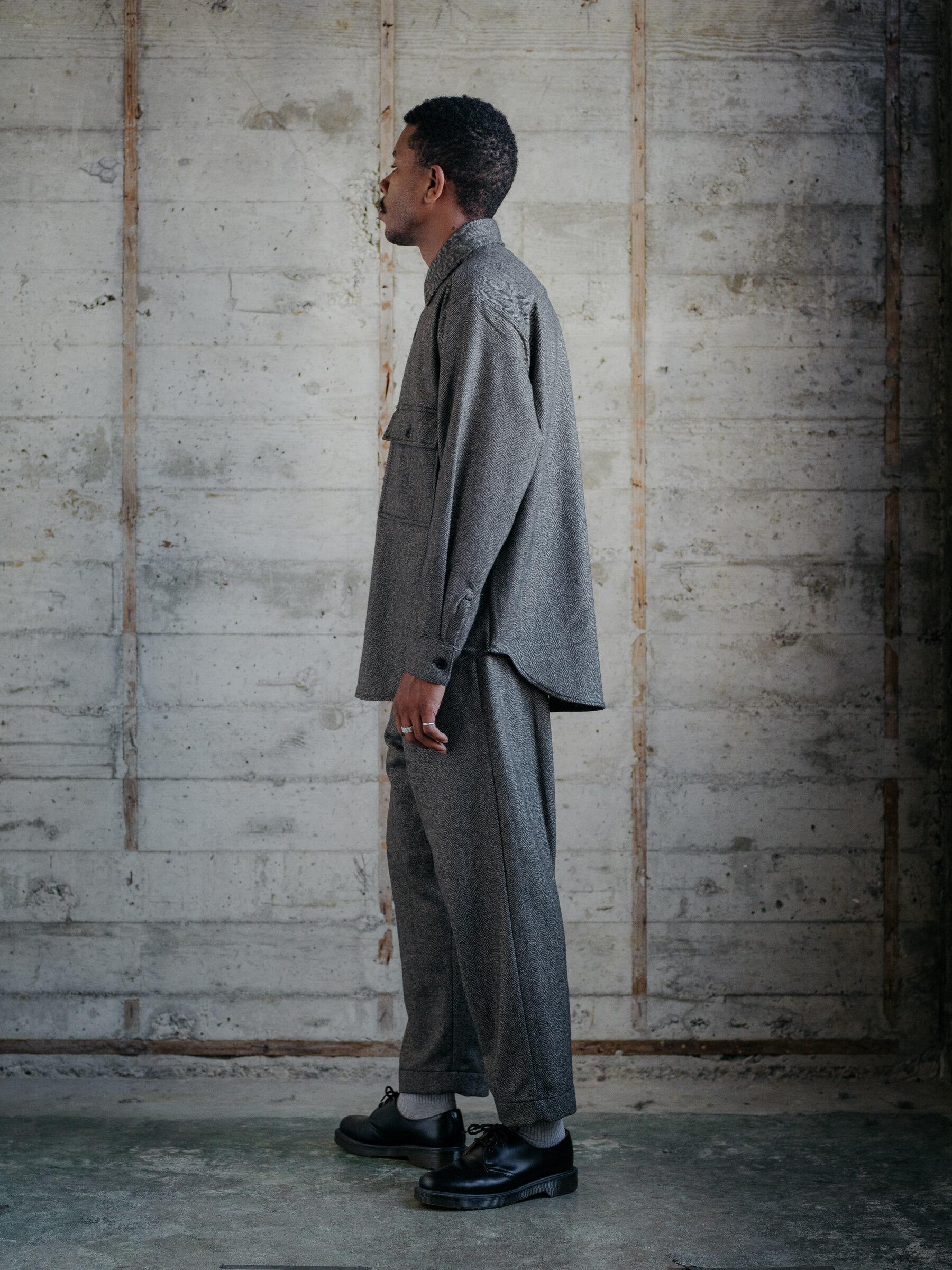 evan-kinori-big-shirt-cashmere-lambswool-herringbone-woven-england-3