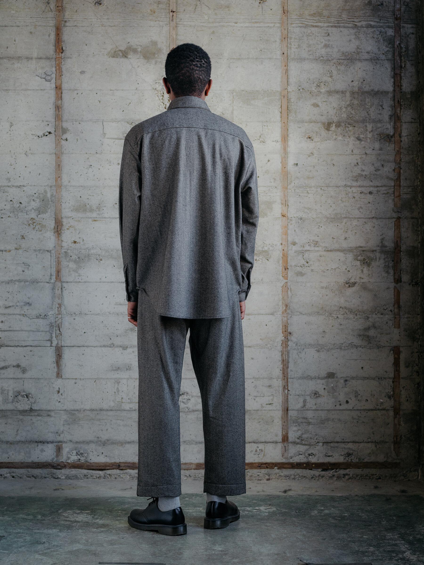evan-kinori-big-shirt-cashmere-lambswool-herringbone-woven-england-4