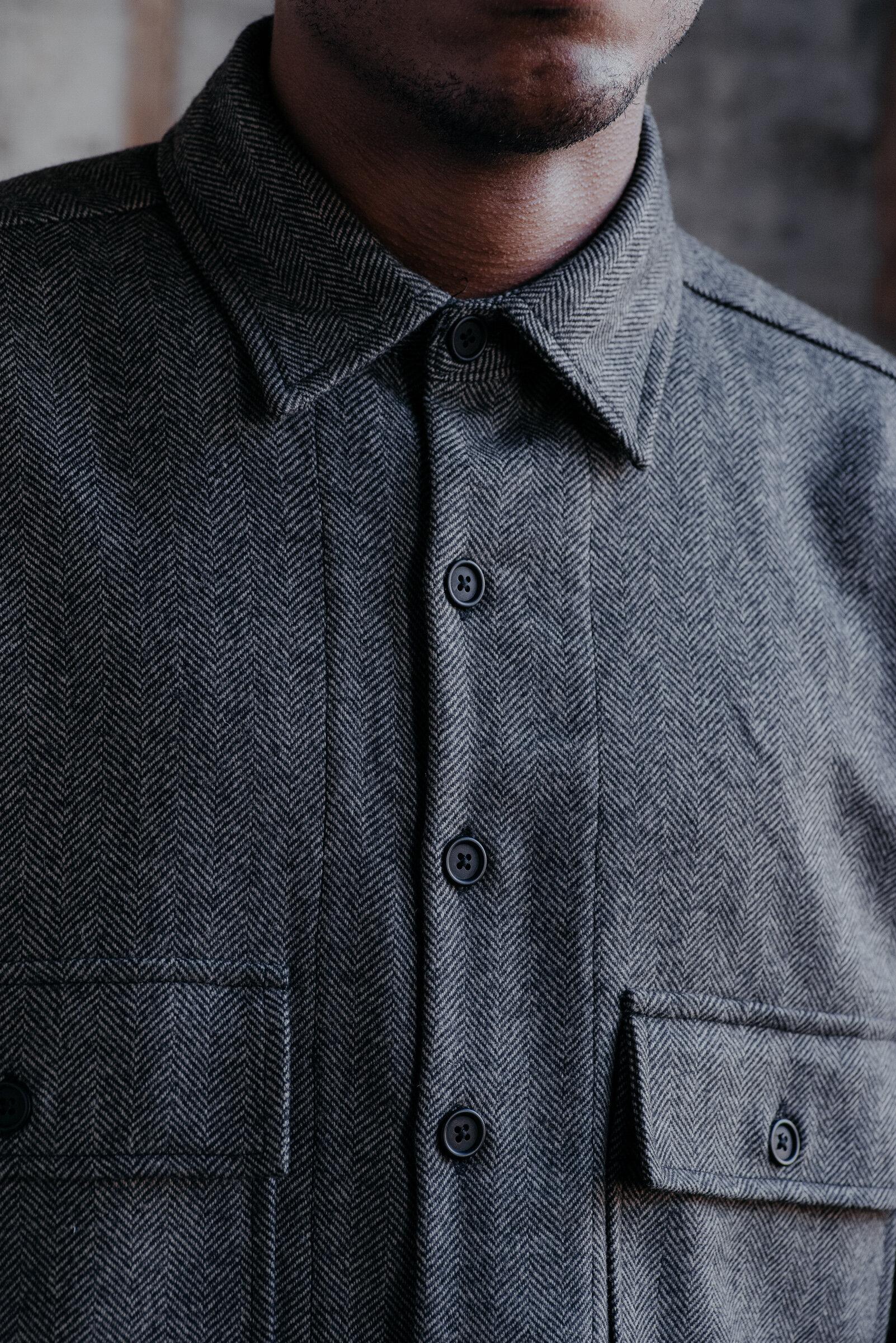 evan-kinori-big-shirt-cashmere-lambswool-herringbone-woven-england-6