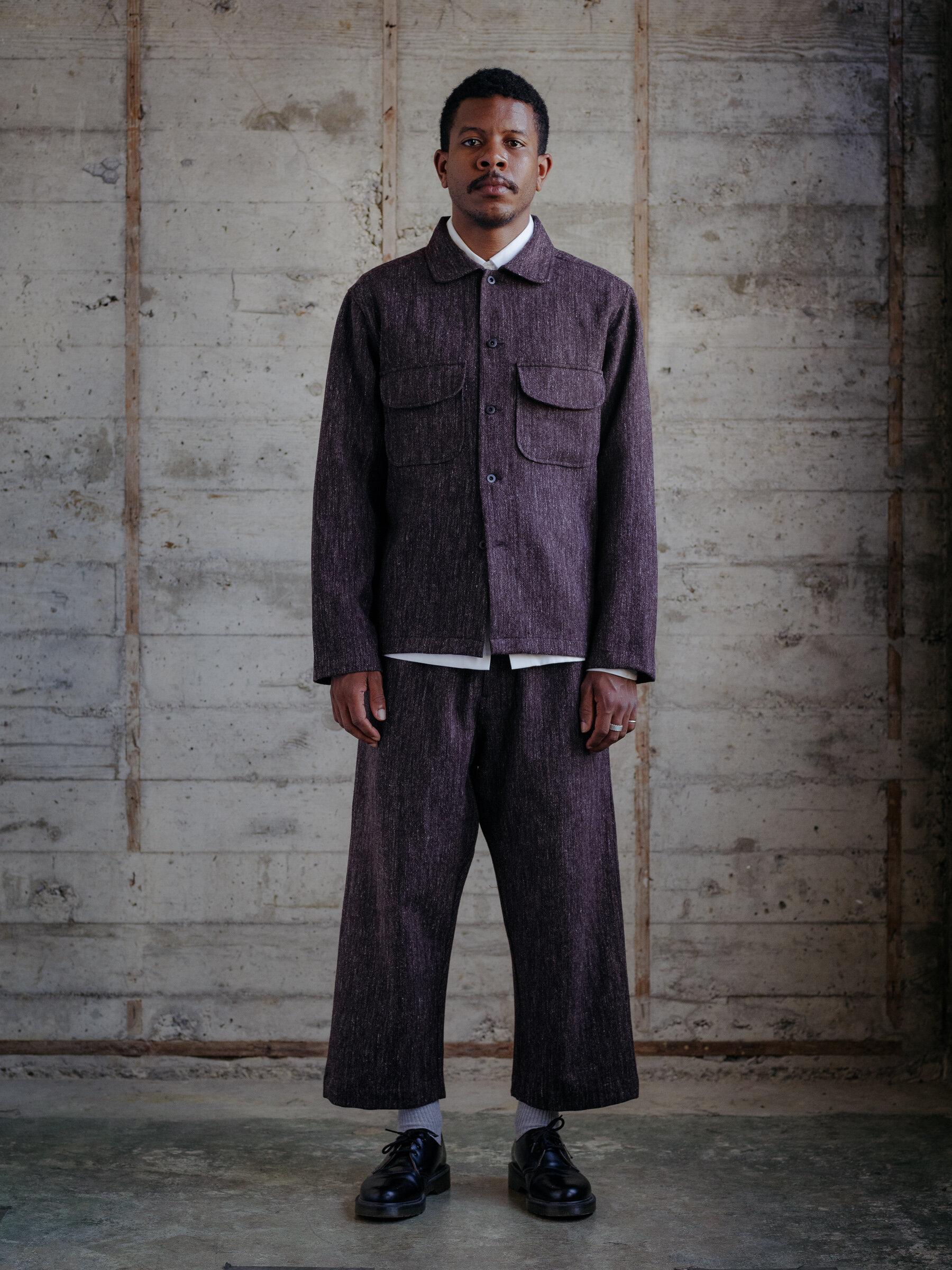 evan-kinori-field-shirt-wool-linen-woven-japan-1